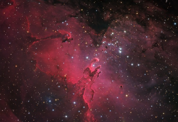 фотоснимки объектов каталога Месье - М16