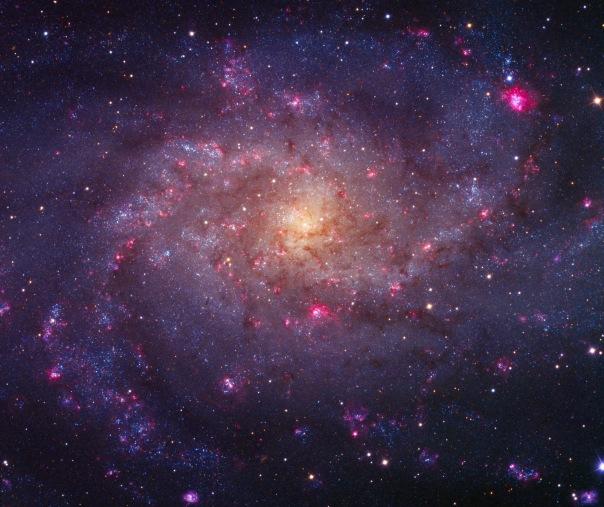 фотоснимки объектов каталога Месье - М33