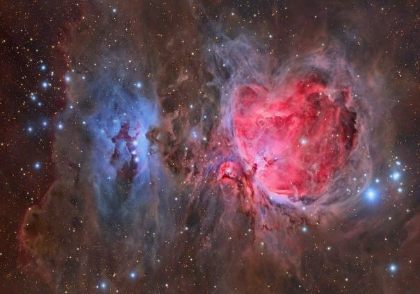 фотоснимки объектов каталога Месье - М42