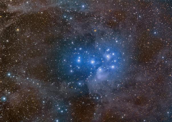 фотоснимки объектов каталога Месье - М45