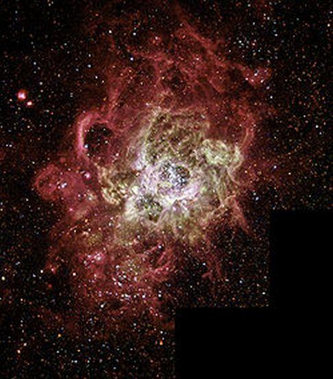 туманности в космосе