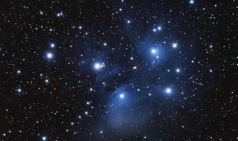 рассеянное звёздное скопление
